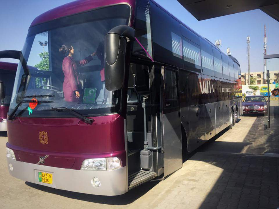 Volvo Luxury Bus Services Started In Pakistan From Lahore