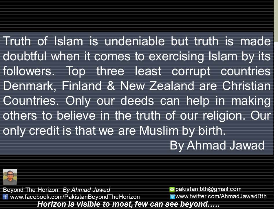 Truth of Islam is undeniable